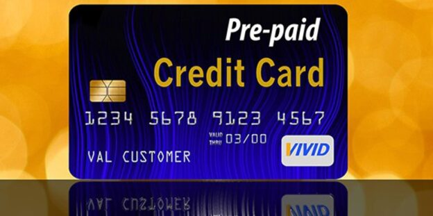 pay safely and privacy with rechargeable prepaid credit card