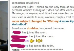 Join a chatroom in CB