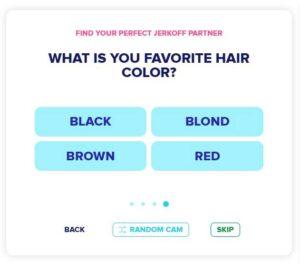 Find blond, brown, red, black hair camgirl on Jerkmate