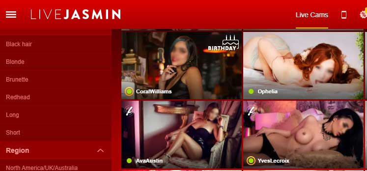 Jasmin webcam topless profile picture is back.